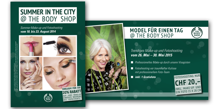 Studioline | Douglas & The Body Shop | 39punkt reklame