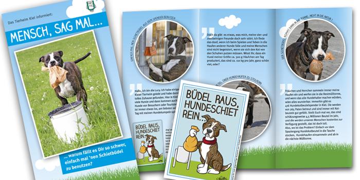 Tierheim Uhlenkroog | Flyer und Aufkleber