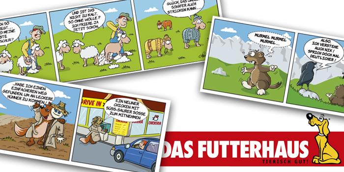 Futterhaus | Comicstrip