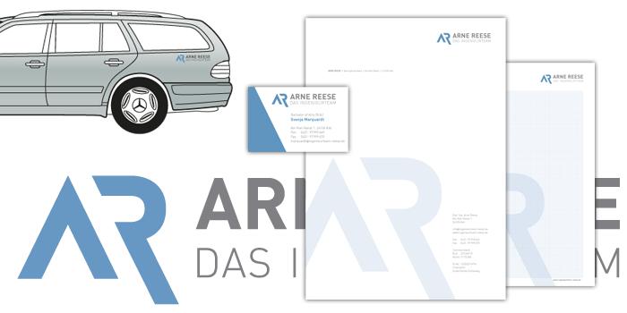 Arne Reese | Logo und Geschäftsausstattung