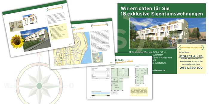 Olaf Rubin Immobilien | Immobilienprospekt und Bauschild