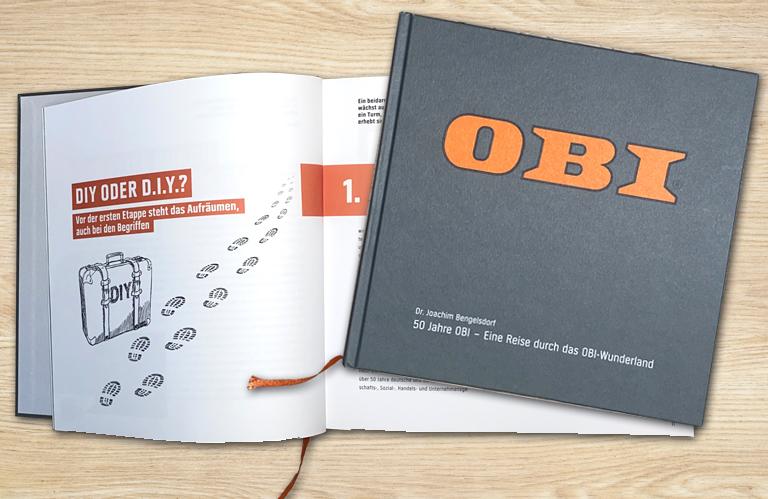 OBI Jubiläumsbuch