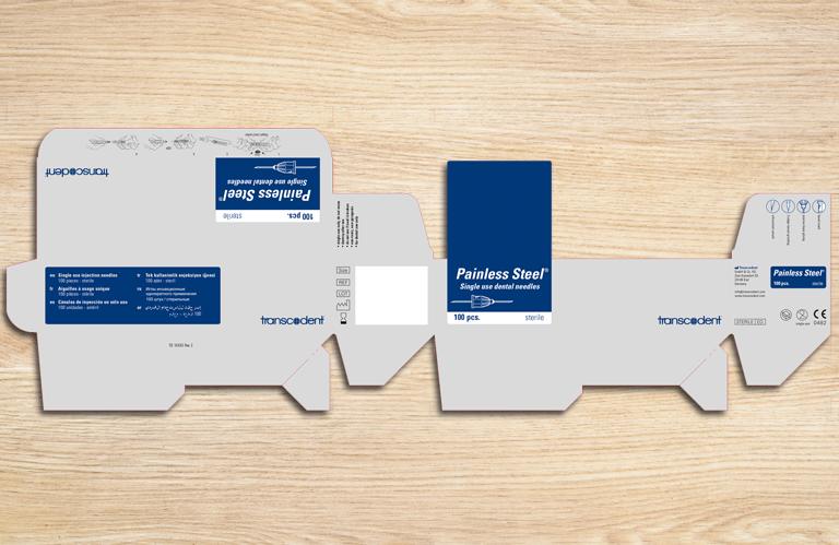 Druckbogen für die Verpackung